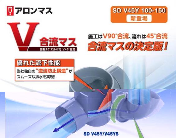 アロンマス 新登場 SD V45Y 100-150